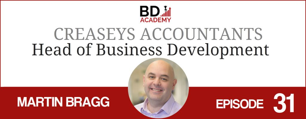 martin bragg on the BD Academy Accounting Influencers podcast with Rob Brown