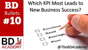 The Most Vital KPI to Determine your New Business Success
