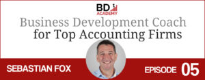 seb fox on the BD Academy top 100 club accounting podcast with Rob Brown