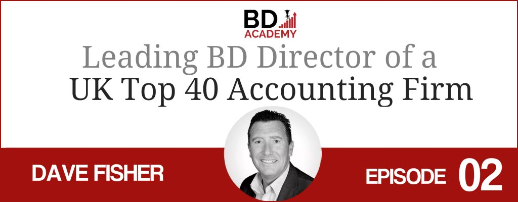 dave fisher on the BD Academy top 100 club accounting podcast with Rob Brown