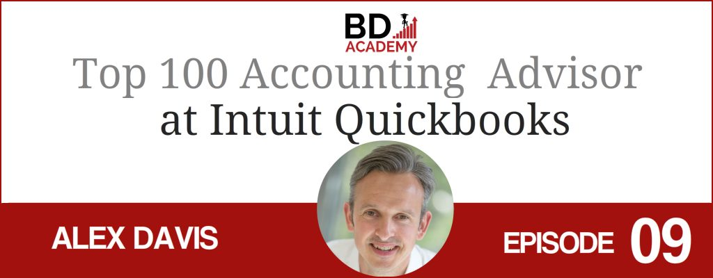 Alex Davis on the BD Academy top 100 club accounting podcast with Rob Brown