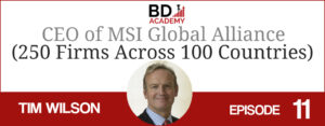 tim wilson on the BD Academy top 100 club accounting podcast with Rob Brown