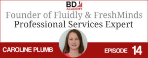 caroline plumb on the BD Academy top 100 club accounting podcast with Rob Brown