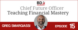 greg smargiassi on the BD Academy top 100 club accounting podcast with Rob Brown