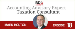 Mark Holton on the BD Academy top 100 club accounting podcast with Rob Brown