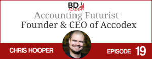 Chris Hooper on the BD Academy top 100 club accounting podcast with Rob Brown
