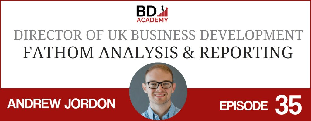 andrew jordon on the BD Academy Accounting Influencers podcast with Rob Brown