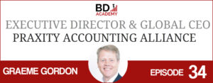 graeme gordon on the BD Academy Accounting Influencers podcast with Rob Brown