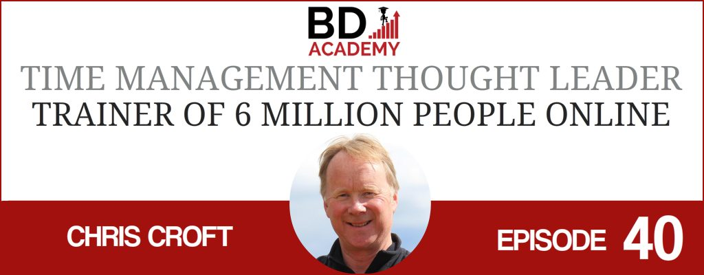 chris croft on the BD Academy Accounting Influencers podcast with Rob Brown