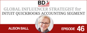 Alison Ball on the BD Academy Accounting Influencers podcast with Rob Brown