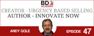Andy Gole on the BD Academy Accounting Influencers podcast with Rob Brown