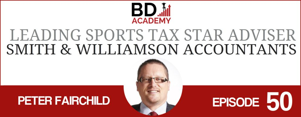 Peter Fairchild on the BD Academy Accounting Influencers podcast with Rob Brown