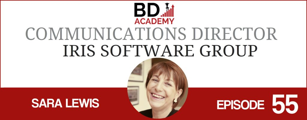 Sara Lewis of Iris on the BD Academy Accounting Influencers podcast with Rob Brown