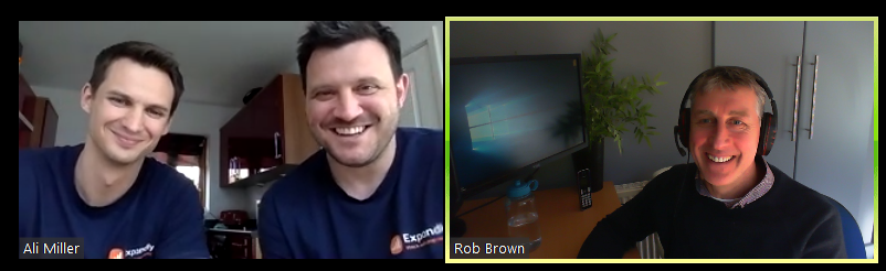Alan Wilson and Ali Miller on the BD Academy Accounting Influencers podcast with Rob Brown