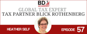 Heather Self on the BD Academy Accounting Influencers podcast with Rob Brown