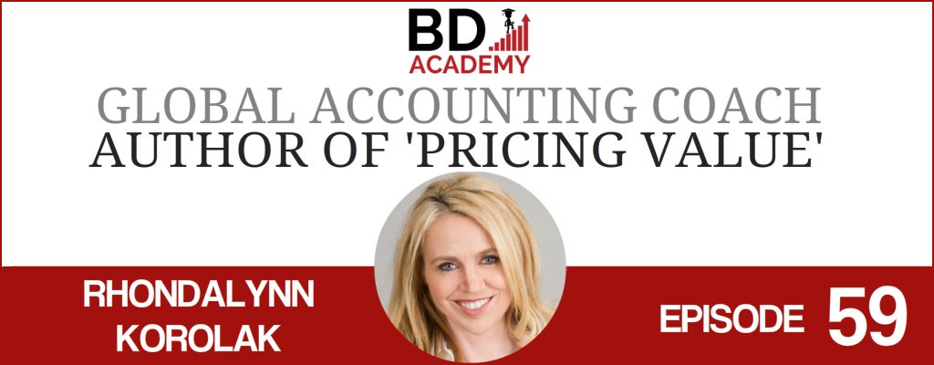 Rhondalynn Korolak on the BD Academy Accounting Influencers podcast with Rob Brown