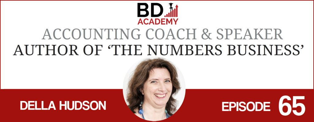 Della Hudson on the BD Academy Accounting Influencers podcast with Rob Brown