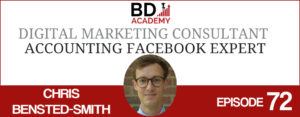 chris bensted-smith on the BD Academy Accounting Influencers podcast with Rob Brown