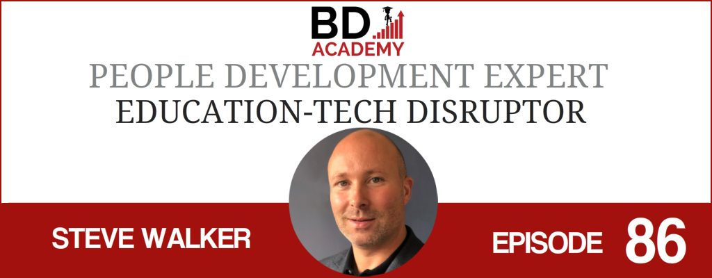 Steve Walker on the Accounting Influencers podcast with BD Academy founder Rob Brown