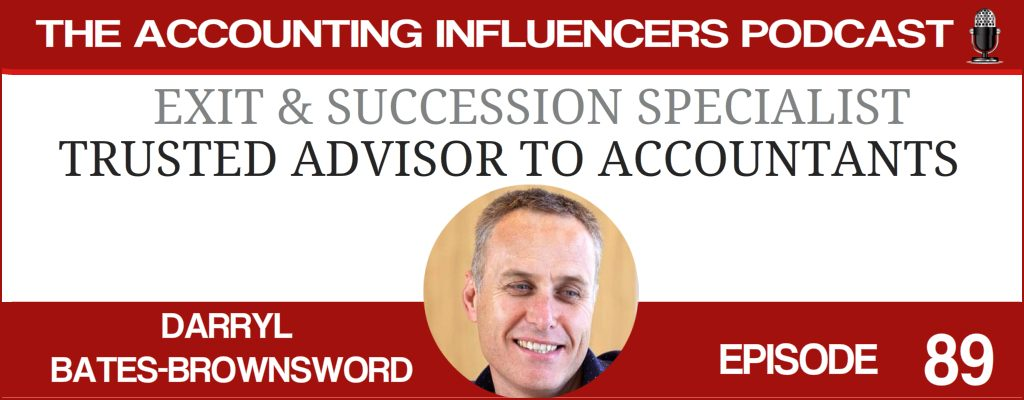 Darryl Bates-Brownsword on the Accounting Influencers podcast with BD Academy founder Rob Brown
