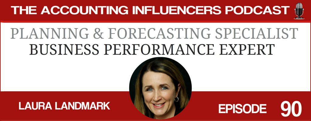 Laura Landmark on the Accounting Influencers podcast with BD Academy founder Rob Brown