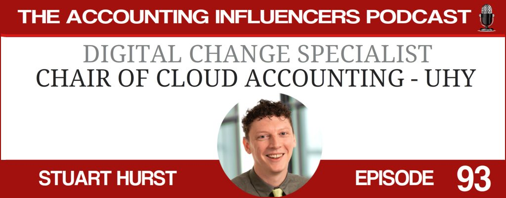 Stuart Hurst on the Accounting Influencers podcast with BD Academy founder Rob Brown