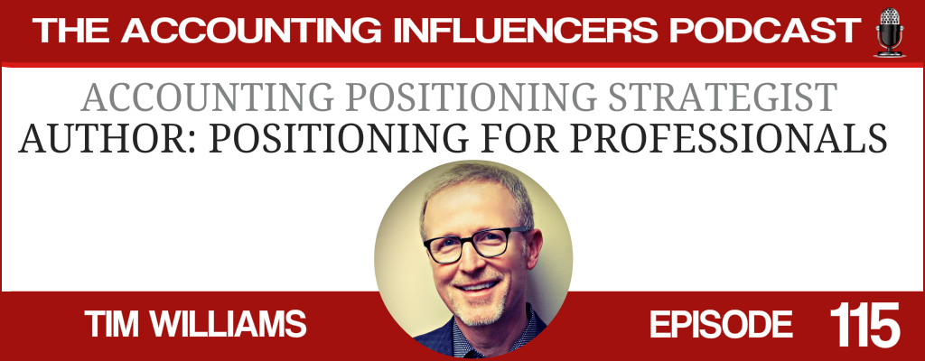Tim Williams on the Accounting Influencers podcast with BD Academy founder Rob Brown