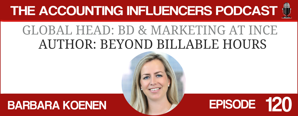 Barbara Koenen on the Accounting Influencers podcast with BD Academy founder Rob Brown